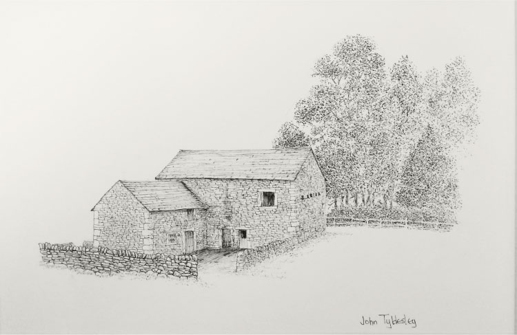 barn-ink-sketch-john-tydlsley