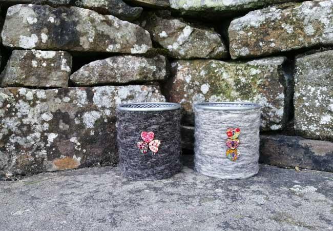 Herdwick Wool Pots